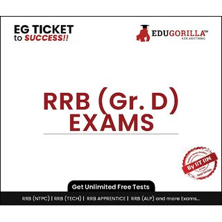 EduGorilla RRB Group D Exam Online Test Series (1 Month)