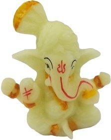 Radium Ganesha Idol for Car Dashboard or Home Decor