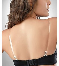 Transparent Adjustable And Detachable Bra Straps (1 Pair)