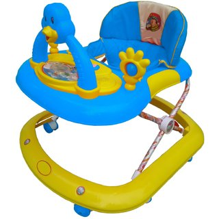 Oh Baby Baby Duck Shape Adjustable Musical BLUE Color Walker For Your Kids WER-VCB-SE--W-94