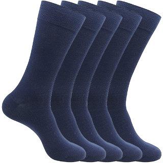 Yorker Premium Combed Cotton School Socks For Kids Boys & Girls Combo Pack of 5
