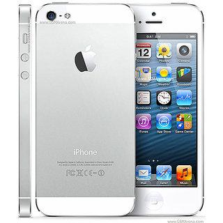Refurbished Apple iPhone 5 16 GB Silver (1 Year Warranty Bazaar Warranty)