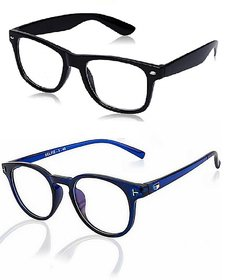 Ivonne Clear Black Uv Protection Medium Full Rim Non-metal Wayfarer Unisex