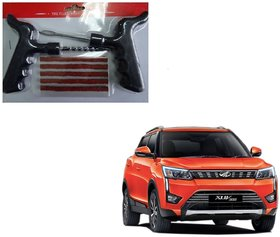 Auto Addict Car Tool Safety With 5 Strip Tubeless Tyre Puncture Repair Kit For Mahindra XUV 300