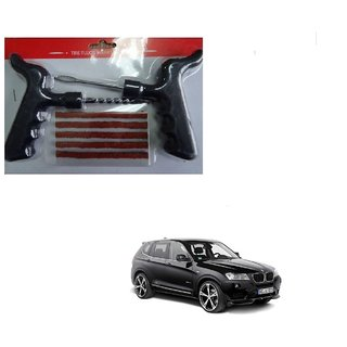 Auto Addict Car Tool Safety With 5 Strip Tubeless Tyre Puncture Repair Kit For BMW X3
