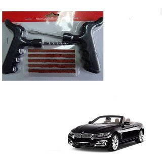 Auto Addict Car Tool Safety With 5 Strip Tubeless Tyre Puncture Repair Kit For BMW 4 Series