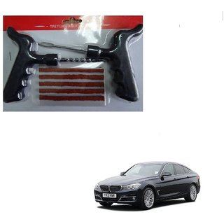 Auto Addict Car Tool Safety With 5 Strip Tubeless Tyre Puncture Repair Kit For BMW 3 GT