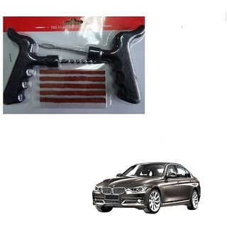 Auto Addict Car Tool Safety With 5 Strip Tubeless Tyre Puncture Repair Kit For BMW 3 Series