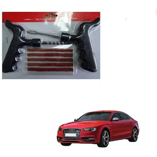 Auto Addict Car Tool Safety With 5 Strip Tubeless Tyre Puncture Repair Kit For Audi S5