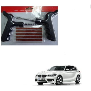 Auto Addict Car Tool Safety With 5 Strip Tubeless Tyre Puncture Repair Kit For BMW 1 Series