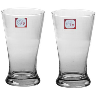 Somil Multi-Purpose Beaver Tumbler Drinking Glass Set for Home Use (Set Of 2) -AA03