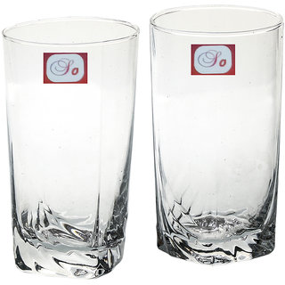 Somil Multi-Purpose Beaver Tumbler Drinking Glass Set for Home Use (Set Of 2) -AA05