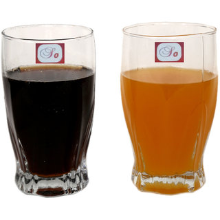 Somil Multi-Purpose Beaver Tumbler Drinking Glass Set for Home Use (Set Of 2) -AA07