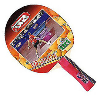 GKI Kung-Fu Dx Table Tennis Bat in new computerised printed cover