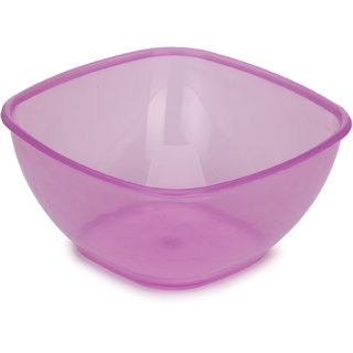 Somil Colorful Table ware Plastic Bowl (Purple) For Daily Use-NP13