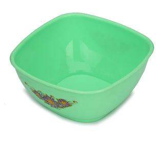 Somil Colorful Table ware Plastic Bowl (Green) For Daily Use-NP14
