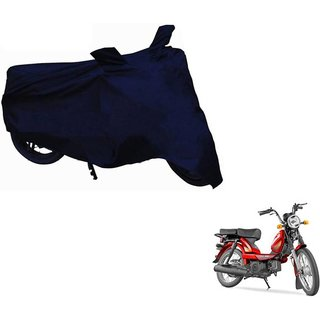 4X4 PREMIUM MATTY NEVY BLUE BIKE COVER FOR Tvs XL sport
