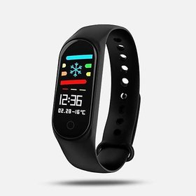 Uimi M3 Black Smart Band / Smart Bracelet with Blood Pressure, Heart Rate Monitoring  Water proof feature