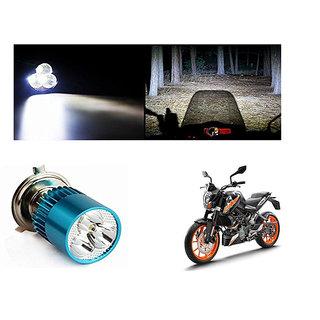 Kunjzone Bike H4 3LED Bright Light Bulb White-  For KTM 200 Duke