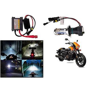 Kunjzone  Premium Quality HID Xenon Kit Bike-Motorcycle-Headlight White Hid Xenon Conversion Kit Headlight Lamp Bulbs For   UM Renegade Sports