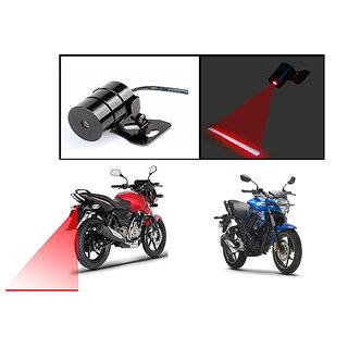Kunjzone  Bike Rear Laser Safety Line Fog Light RED For  Suzuki Gixxer