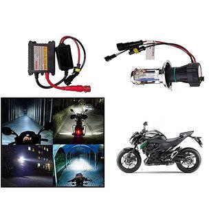 Kunjzone  Premium Quality HID Xenon Kit Bike-Motorcycle-Headlight White Hid Xenon Conversion Kit Headlight Lamp Bulbs For   Kawasaki Z800
