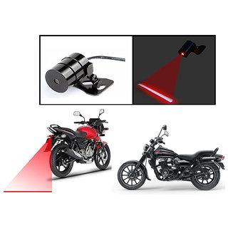 Kunjzone  Bike Rear Laser Safety Line Fog Light RED For  Bajaj Avenger 150 Street