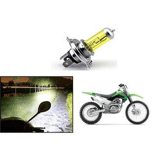 Kunjzone  Bike H4 Halogen Bulb Yellow For   Kawasaki KLX 160G