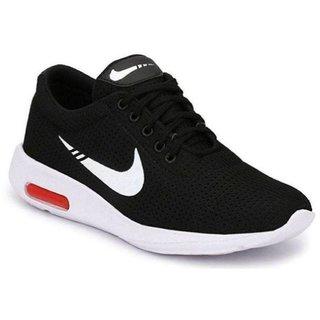 Clymb Men's Black Running Sports Shoes