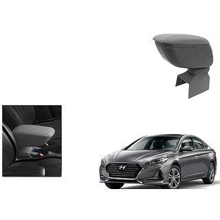 Kunjzone Car Armrest Console Grey Color For Hyundai Sonata Type 1 type 1 type 1