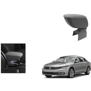 Kunjzone Car Armrest Console Grey Color For Volkswagen Passat