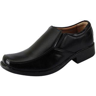 Bata Mens Black Formal Slip On Shoes Shoes