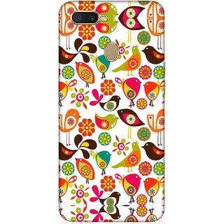 Digimate Printed Designer Hard Plastic Matte Mobile Back Case Cover For Oppo A7 Design No. 0612