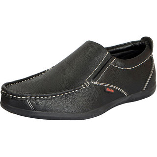 Bata Mens Black Loafers Casual Loafers
