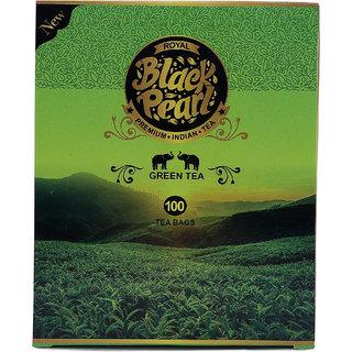 Royal Black Pearl (Heritage Blend) Green Tea Bags 100 Tea Bags