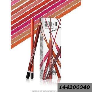 Super Matte Lip Liner Pencil (Set of 12)