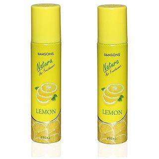 Ramsons Floral Lemon Combo Air Freshener Pack of 2
