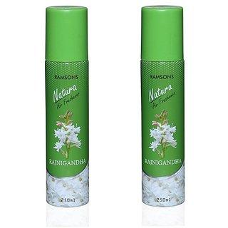Ramsons Floral RajniGandha Combo Air Freshener Pack of 2