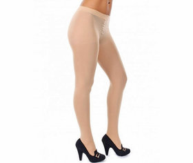 SPERO Women's Panty Hose Long Comfort Stockings Tights Beige colour Free Size