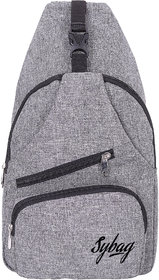 Sybag Grey Sling Chest Bag