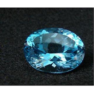Jaipur Gemstone 7.5 -Ratti IGL&I Blue Topaz Precious Gemstone