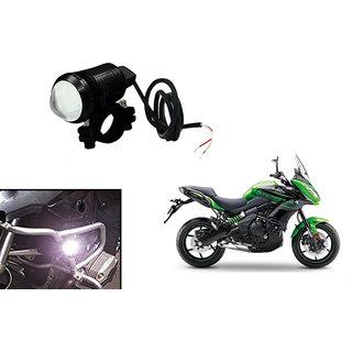 KunjZone U1 LED Motorycle Fog Light Bike Projector Auxillary Spot Beam Light ( 1 Pc) For Kawasaki Versys 650