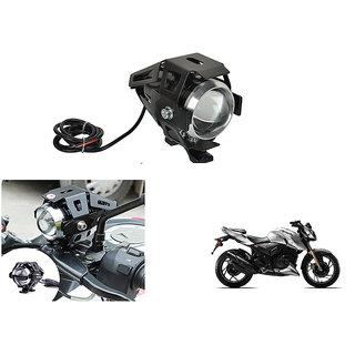 KunjZone 3000LM CREE U5 LED Front Light Motorcycle Driving Fog Spot light for  TVS Apache RTR 200 4V (1 PC)