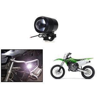 KunjZone Waterproof U2 CREE 30 watt LED Motorcycle Bike Additional Headlights - Super Bright U2 Laser Gun Used for Front Spot Light( 30W CREE) (1PC) For Kawasaki KX100F