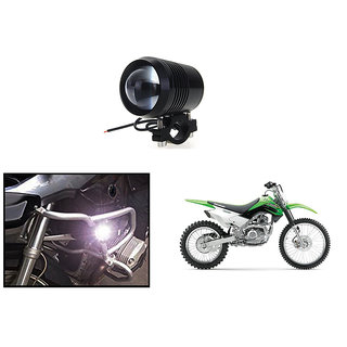 KunjZone Waterproof U2 CREE 30 watt LED Motorcycle Bike Additional Headlights - Super Bright U2 Laser Gun Used for Front Spot Light( 30W CREE) (1PC) For Kawasaki KLX 140G