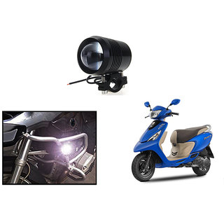 KunjZone Waterproof U3 Without LED Ring CREE 30 watt LED Motorcycle Bike Additional Headlights - Super Bright U3 Without LED Ring Laser Gun Used for Front Spot Light( 30W CREE) (1PC) For TVS Scooty Zest 110