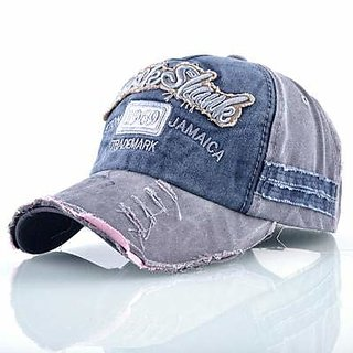 91dccde2487 DaTeen Rockshank Jamaica for Men Boy Snapback Caps Distressed Wearing  Adjustable Hat