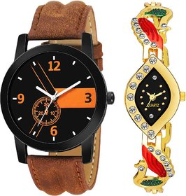 TRUE CHOICE NEW SUPER FAST SELLING COUPLE WATCH WITH 6 MONTH WARRNTY