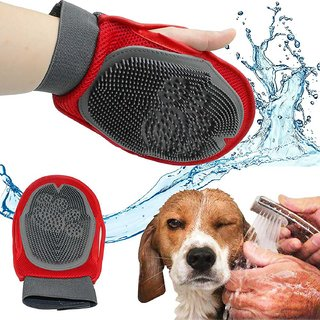 Easydeals Pets Grooming Mitt Pet Brush(Color As Per Availability)