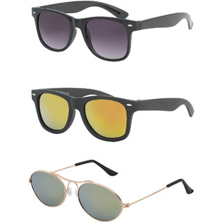 d80f0991b92 58%off Amour Propre Multicolor Waferer Sunglasses Pack of 3